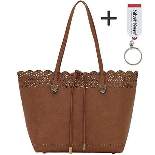 american-west-bandana-darlington-lace-two-in-one-travel-tote-saddle-brown