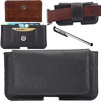 Urvoix (TM)-Custodia in pelle con Clip per cintura per & Loop, con porta carte di credito, per Apple iPhone 6 Plus/6S Plus (13,97 (5,5 cm)