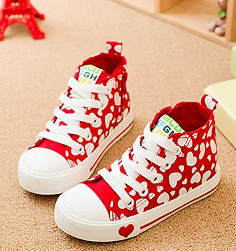 XTIAN , chaussons d'intérieur fille Rouge