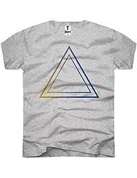 Thé T-shirt, Men T-shirt Triangle