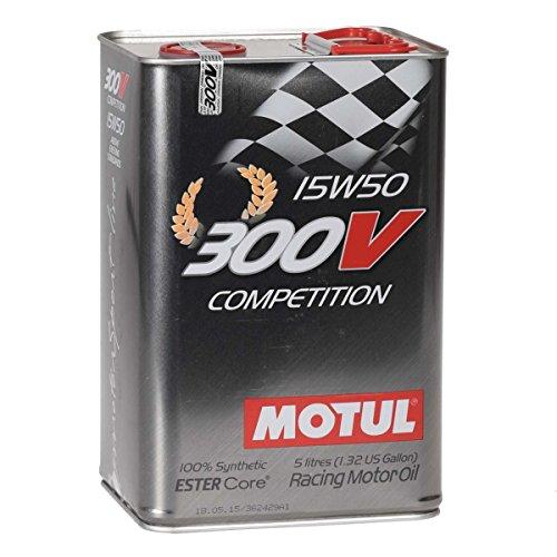 MOTUL 103920300V competition 15W50olio motore 5