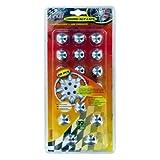 Akhan 2242 - Felgen Radschraubenkappen Schraubenabdeckung Inhalt: 20 Stück geeignet für Schraubenkopf Ø 19 mm