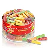 Red Band Sour Stick Sweet 1200g Full Tub - Dutch Candy & Sweets Test