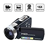 Camcorder Videokamera Digital Video Recorder HD 1080P 24MP 16X Digital Zoom Video Camcorder mit 2,7