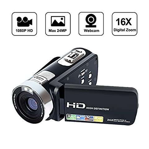 Camcorder Videokamera Digital Video Recorder HD 1080P 24MP 16X Digital Zoom Video Camcorder mit 2,7