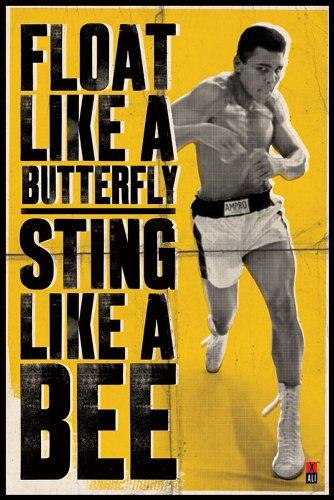"Empire 158529 Poster sportivo ""Muhammad Ali - Float Boxing"" 61 x 91,5 cm"