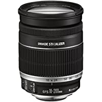 Canon EF-S 18-200 mm f/3.5-5.6 IS , Black
