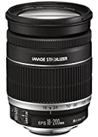 Canon EF 18-200mm f/3.5-5.6 IS - Objetivo para Canon (distancia focal 18...