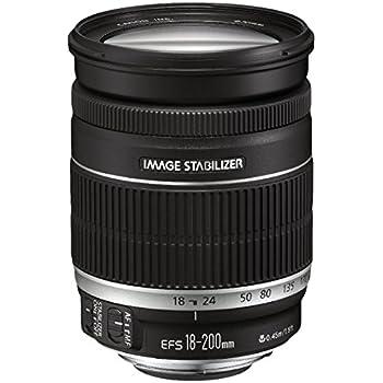 Canon EF-S 18-200mm 1:3,5-5,6 IS Objektiv (72 mm Filtergewinde, bildstabilisiert)