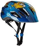 Bell Kinder Fahrradhelm Zipper, Blue Puffer, 47-54 cm