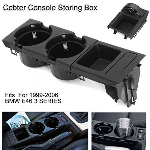 oshide Vorne Mittelkonsole Getränkehalter Aufbewahrungsbox Fit für 3 Series 99-06 BMW E46