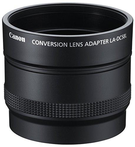 Canon LA-DC58L Lens Adapter für PowerShot G15 schwarz (Kamera G15 Canon)