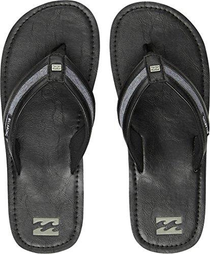 Billabong Seaway Chaussures de Sport en Salle Homme, Noir, Taille 40