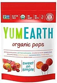 Yum Earth Organic Fruit Pops 14 Pieces, 85 g