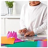 Ikea MALA–Papier Dekoration Set, farbig Sortiert, Motive Sortiert