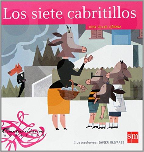Los siete cabritillos (Cuentos clásicos modernos) por Luisa Villar Liébana