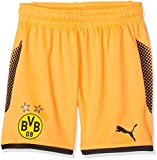 Puma Kinder BVB GK Torwart Shorts, Fluo Orange Black, 128