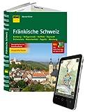 ADAC Wanderführer Fränkische Schweiz inklusive Gratis Tour App: Bamberg Heiligenstadt Hollfeld Bayreuth Pottenstein Waischenfeld Pegnitz Nürnberg -