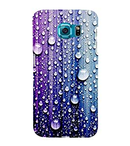 Droplets on Colourful Wall 3D Hard Polycarbonate Designer Back Case Cover for Samsung Galaxy S6 Edge+ :: Samsung Galaxy S6 Edge Plus :: Samsung Galaxy S6 Edge+ G928G :: Samsung Galaxy S6 Edge+ G928F G928T G928A G928I