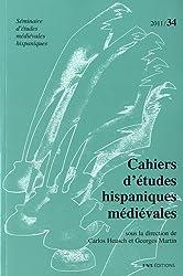 Cahiers d'études hispaniques médiévales, n34/2011