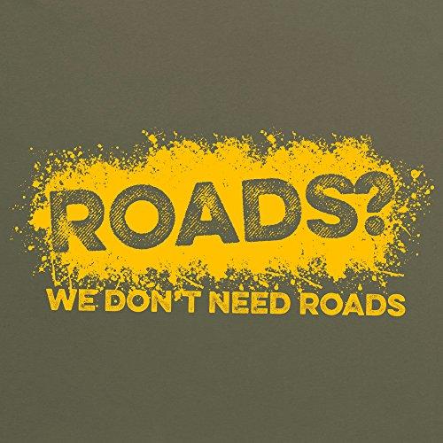 LRO Roads T-shirt, Uomo Verde oliva