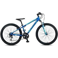 "Beany Ni?±os Sport bicicleta, Blue, 24"""