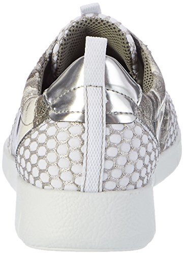 Jenny Damen Zamora Sneaker Weiß (weiss,grau/silber)
