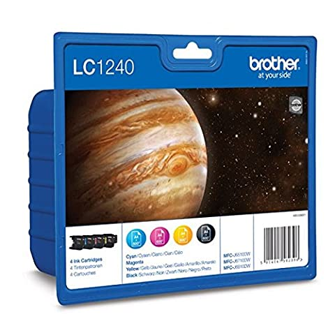 Brother Lc1240 Inkjet Cartridge Value Pack - Cyan/Magenta/Yellow/Black