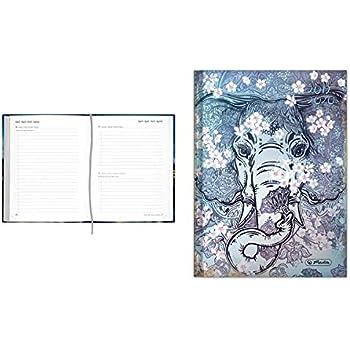Tageskalendarium A5 1 St/ück Sch/ülerkalender Legend Elefant 2019//20
