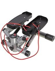 Máquina de step profesional de SportPlus con correas y ordenador de entrenamiento, SP-MSP-008-P