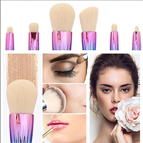 SMX&xh 10pcs Shell Brush Set de maquillage Blush Foundation Power Eye Shadow Contour des sourcils Make Up Brushes Beauty Tool , 003