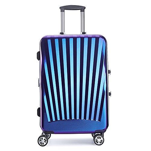 PARTYPRINCE Valigia blu blu S 56x33x24cm
