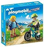 Playmobil Playmobil-9129 Action Ciclista y Excursionista (9129)