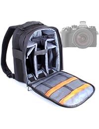 DURAGADGET Mochila Resistente Con Compartimentos Para Cámara Olympus OM-D E-M1 / E-M5 Micro Four/ E-M5 + Funda Impermeable ¡Perfecta Para Fotografiar Bajo La Lluvia!