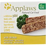 Applaws Cat Food Pate with Chicken 10x100g