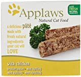 Applaws Cat Food Pate Chicken, 100g, Pack of 10