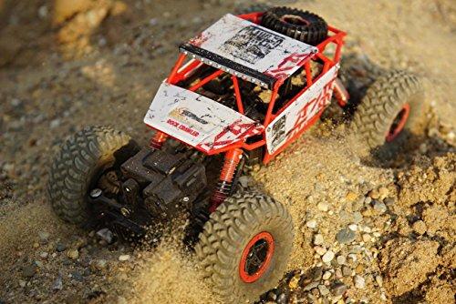 Top Race® Camión Treparrocas RC a Control Remoto 4WD, Vehículo Rodo