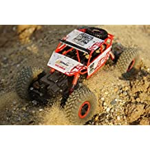 Top Race® Camión Treparrocas RC a Control Remoto 4WD, Vehículo Rodoterreno, Baterías 2.4Ghz incluidas (TR-130