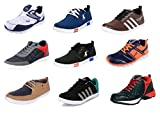 #6: LeatherKraft Men's Casual Shoes, Sports Shoes, Sneakers Combo of 2 as per Stock Availability