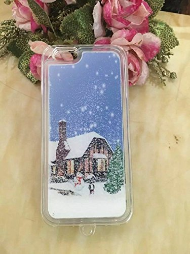 Ronney 's Christmas Special Quick Sand Mobile Case Cover für Apple iPhone 5/5S & 6/6S, plastik, Weihnachtsmann, Apple iPhone 5/5S HOUSE1