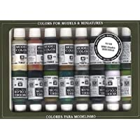 Vallejo WWII - Set de pintura acrílica (16 unidades), multicolor