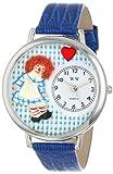 Whirlpool WHIMS-U0220004 - Reloj de Cuarzo para Hombre, con Correa de Cuero, Color