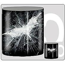 Batman Dark Knight Rises Poster Boxed 12 Ounce Ceramic Mug by Silver Buffalo