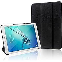 Samsung Galaxy Tab S2 9.7 Funda, JETech Slim Fit Galaxy Tab S2 T810/T815C 9.7 Smart Funda Carcasa con Stand Función y Imán Incorporado para el Sueño/Estela para Samsung Galaxy Tab S2 9.7 pulgadas (Negro) - 3320