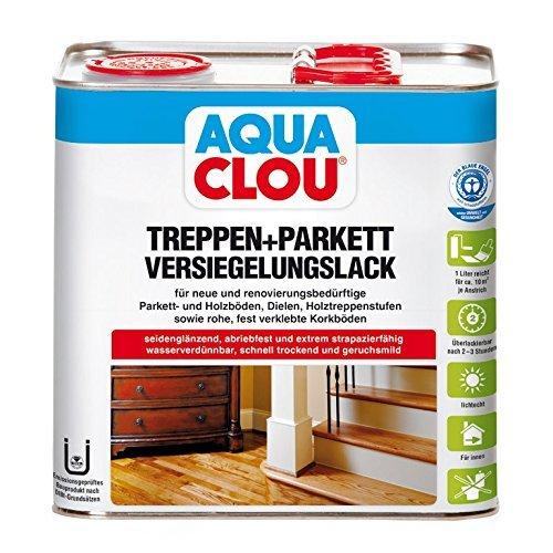 Clou Treppen- und Parkettversiegelungslack L10 2,5 L