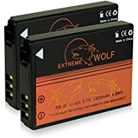 Bundle - 2x Power Batería NB-5L para Canon Digital Ixus 90 IS | 800 IS | 850 IS | 860 IS | 870 IS | 900 Ti | 950 IS | 960 IS | 970 IS | 980 IS | 990 IS - PowerShot S100 | S110 | SD770 IS | SD790 IS | SD800 IS | SD850 IS | SD870 IS | SD880 IS | SD890 IS y mucho más...