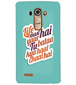 LG G4 LIFE MAST HAI Back Cover by PRINTSWAG
