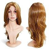 Wendy Hair Anime Cosplay peluca sintética japonesa Kanekalon resistente al calor peluca completa con brazaletes de pelo largo rizado ondulado moda peluca sintética para mujeres niñas señora moda y belleza