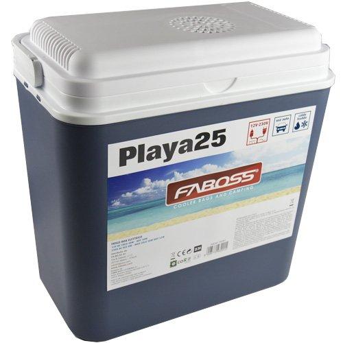 Frigo box termoelettrico 25 litri frigorifero 12v - 230v portatile elettrico classe energetica a+