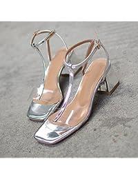 esPlata Amazon Mujer 36 Para Zapatos ZapatosY k8On0wPX